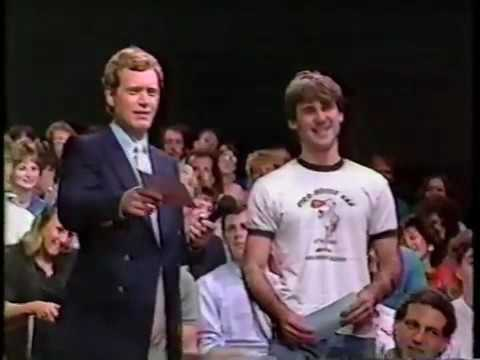 08 11 1986 David Letterman Late Night Beverly D'Angelo Jeff Cesario Large Fruits