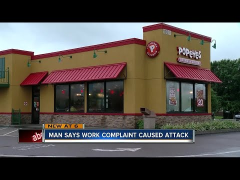 LAWSUIT: Popeyes worker says he was attacked after reporting colleague drinking on the job
