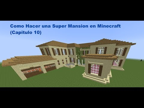mansion videos - Todas las partes de como hacer esta super mansion Parte 1. https://www.youtube.com/watch?v=qyPw5iqP2OE Parte 2. https://www.youtube.com/watch?v=dBBFiwWlsqk P...