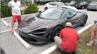 Bikers ATTACK McLaren 720S in ROAD RAGE Incident!
