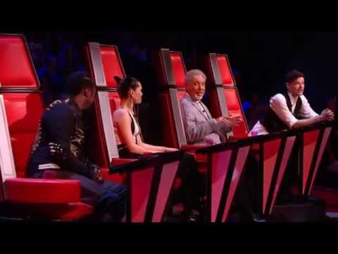 The voice UK funny moments from the Live Show 4 *episode 13*