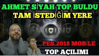 SİYAH TOP ŞOV OĞLUM BULDU - PES 2018 MOBİLE TOP AÇILIMI