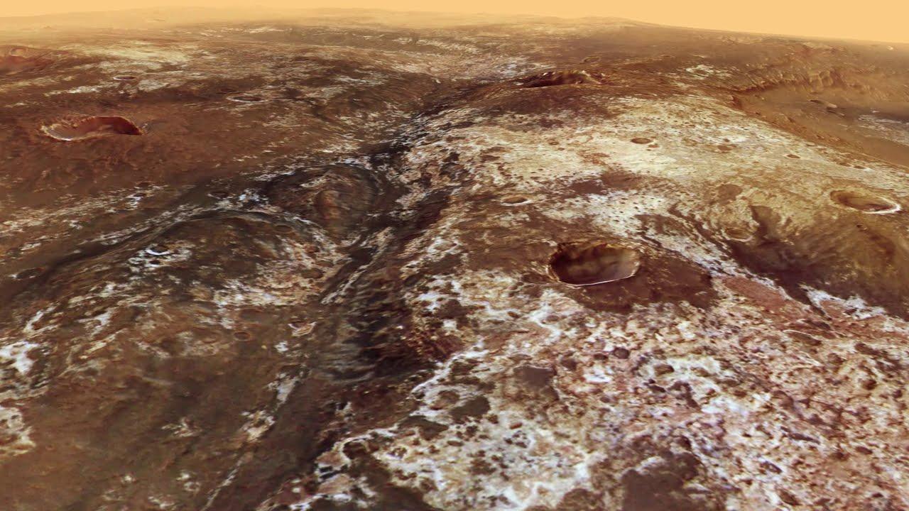 #видео дня | Виртуальная прогулка по руслу древней марсианской реки