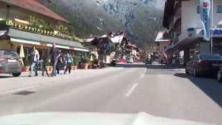 Oetz Austria  city pictures gallery : Sautens Ebene Oetz Oetztal Strasse Tirol B186 Austria Österreich 7.4.2015