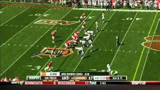 Bruce Taylor vs Clemson (2012) vs  Clemson  (2012)