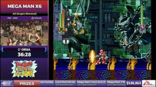 Try Not to Touch His Balls - SGDQ 2017 - MMX6 Speedrun