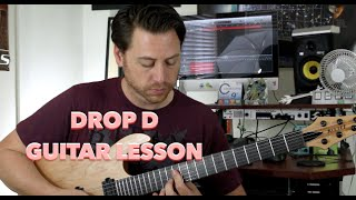 In this week's lesson we delve deep into the world of Drop D Tuning and Chord Voicings. Enjoy these lessons? Looking for TABs? Please subscribe for weekly ...