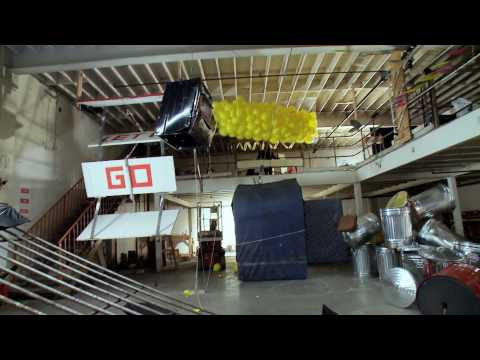OK Go – This Too Shall Pass – Rube Goldberg Machine – Official Video