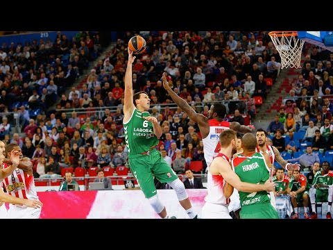 Highlights: RS Round 2, Laboral Kutxa Vitoria 96-89 OT Olympiacos Piraeus