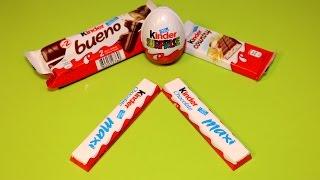 Kinder Chocolate Maxi Kinder Country Kinder Bueno Kinder Surprise Egg Kinder Joy