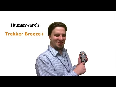 Demonstration of Humanware's Trekker Breeze+ by Peter Tucic