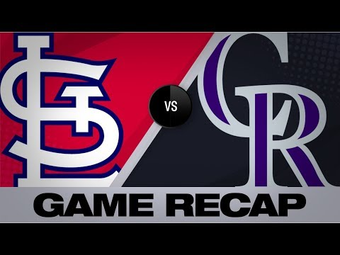 Video: Desmond, Senzatela lift Rockies to 2-1 win | Cardinals-Rockies Game Highlights 9/11/19