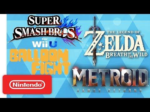 The Legend of Zelda: Breath of the Wild, Super Smash Bros. & More! | NWC 2017 (Pt. 1) Highlights
