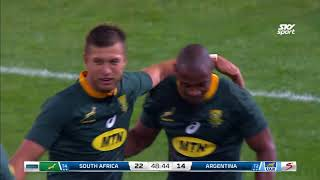 South Africa v Argentina Rd.1 2018 Rugby Championship video highlights | Rugby Championship Video Hi