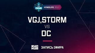 VGJ,Storm vs DC, ESL One Hamburg 2017, game 2 [Lum1Sit]