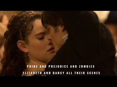 Pride and Prejudice and zombies Elizabeth and Darcy all their scenes