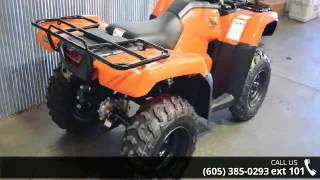 10. 2016 Honda FourTrax Foreman 4x4 Power Steering  - Vern Ei...