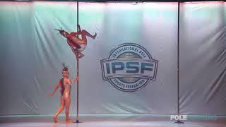 Download Lagu Maki Mori  Keiko Takemoto - IPSF World Pole Championships 2018 Mp3
