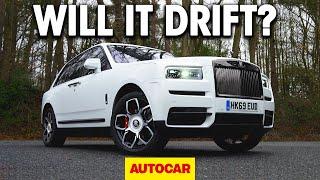 WILL IT DRIFT?   The Rolls-Royce Cullinan   Autocar by Autocar