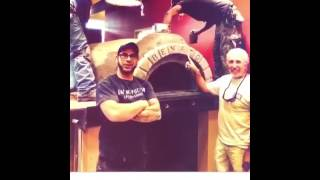 VIDEO: Custom made wood fired oven- Austin, TX