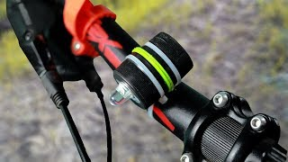 Video How to make a rechargeable bicycle  headlight easy MP3, 3GP, MP4, WEBM, AVI, FLV Juli 2019