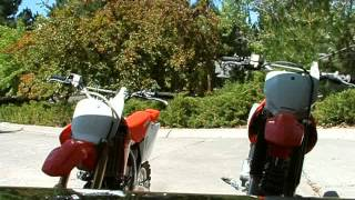 4. Honda CRF150R and Honda CRF230F