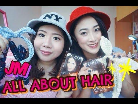 JM♡ 沒女大翻身!! 從你的髮型開始變美 | ALL ABOUT HAIR (Revlon ColorSilk Included)