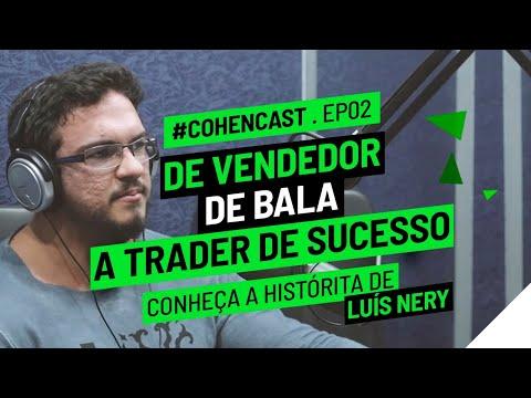 De vendedor de bala a trader de sucesso, conheça a história de Luís Nery | #CohenCast ep. 002