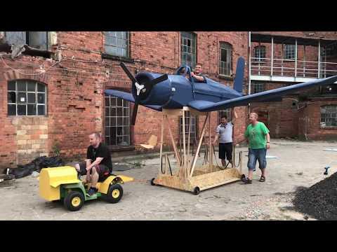Wideo1: Testy samolotu na Red Bull Konkurs Lotów