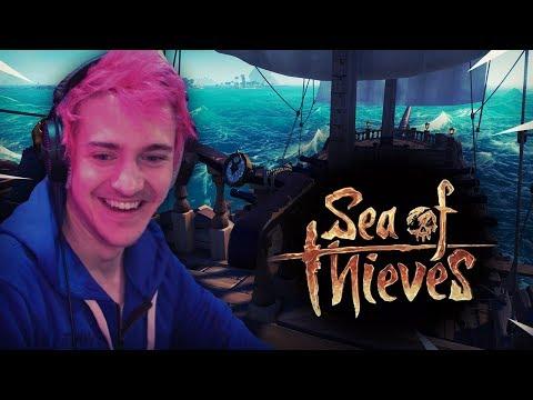 Ninja Plays Sea Of Thieves! - Thời lượng: 21 phút.