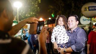 O prefeito Geraldo Julio visitou na noite desta terça-feira (23), véspera de São João, o principal polo junino do Recife, na Zona Norte: o Sítio Trindade, em Casa ...