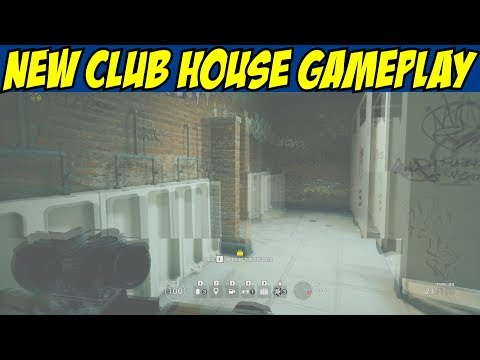 Rainbow Six Siege New Club House Rework Gameplay w/ Macie_Jay Maestro Alibi R6 Para Bellum (видео)