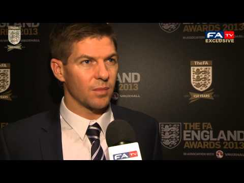 England Player Of The Year - Steven Gerrard gives FATV his thoughts on winning England Player of the Year 2012. Subscribe to the official YouTube channel of the England football team fea...