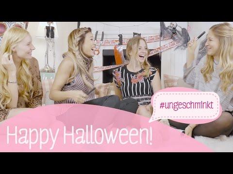 Halloween-Special mit Klein aber Hannah | #ungeschminkt mit Giulia Groth, Kisu und Diana zur Löwen