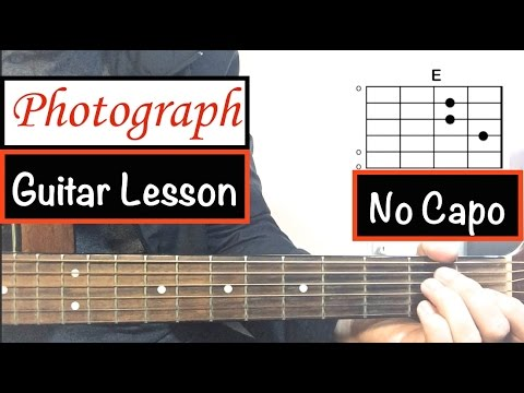 """Photograph"" – Ed Sheeran 