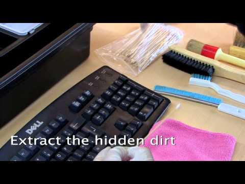 Computer Keyboard - refresh Cleaning - Computer Keyboard Cleaning refresh cleaning are available to professionally clean dirty IT equipment for companies across the West Midland...