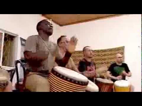 Dembele african drum & dance workshop Israel 2013