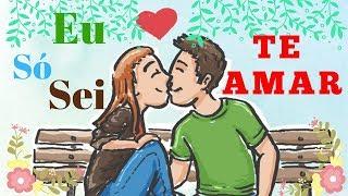 Mensagem de carinho - Te Amo Por Todas As Razões E +1-Linda Declaração De Amor