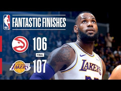 Video: Lakers And Hawks Goes Down To The Wire | November 11, 2018