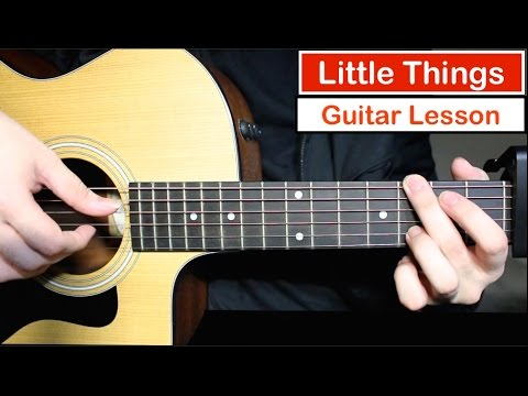 One Direction – Little Things | Guitar Lesson (Tutorial) How to play Chords