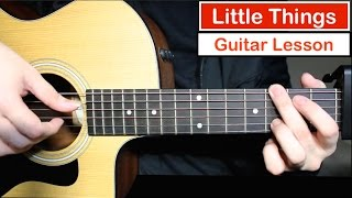 Video One Direction - Little Things | Guitar Lesson (Tutorial) How to play Chords MP3, 3GP, MP4, WEBM, AVI, FLV April 2018