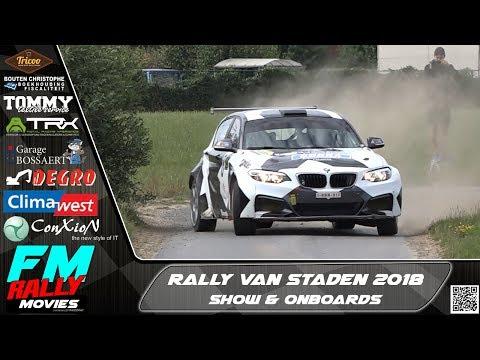 Rally van Staden 2018 | SHOW & ONBOARDS [HD]