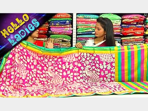Latest-Collections-of-Indira-Silk-Sarees-and-Fancy-Sarees-Hello-Ladies-Vanitha-TV-09-03-2016