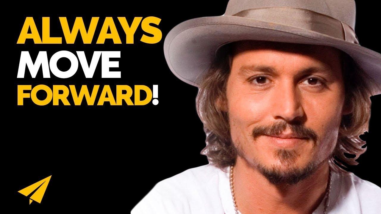Keep Moving FORWARD - Johnny Depp - #Entspresso