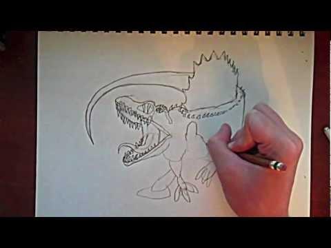 Quick Sketch Monday: Spinosaurus