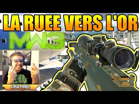 sniper - MW3 : La ruée vers l'or au Barrett en Live #11. ○ COD AW Sniper Gameplay : http://youtu.be/bstkuGKa_Xk ○ Les armes, classes, atouts... sur COD AW : http://youtu.be/jWWttIy1CfY ○ Road...