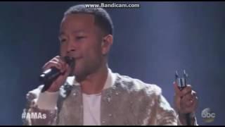 John Legend - Performance @ 2016 American Music Awards (Amas)