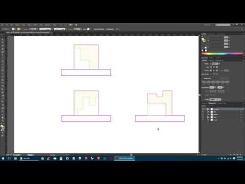 AutoCAD PDF To Adobe Illustrator Tutorial
