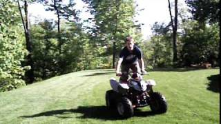 7. Tricks on A Polaris Predator 90cc