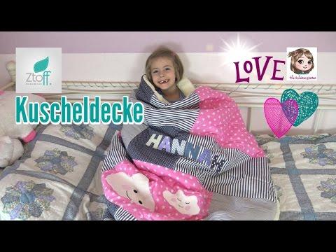 HANNAHS NEUE KUSCHELDECKE ❤️ Sooo gemütlich und kuschelig ❤️ Geschenkidee | Ztoff.